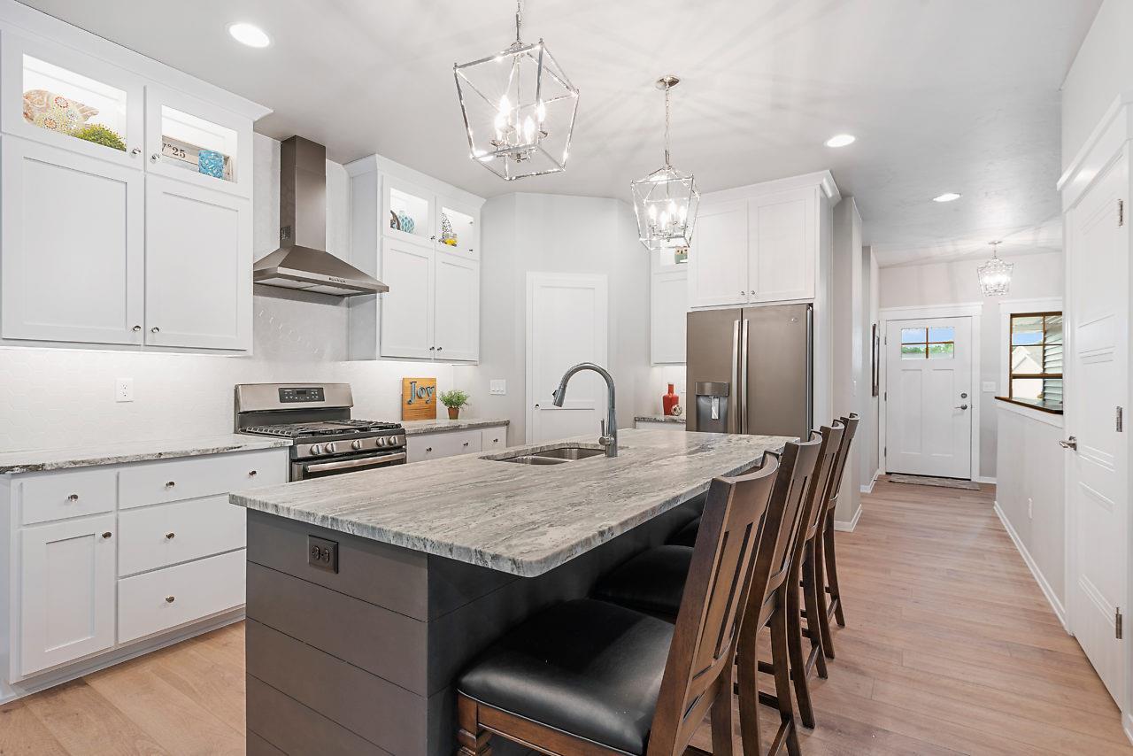 fantasy brown marble kitchen