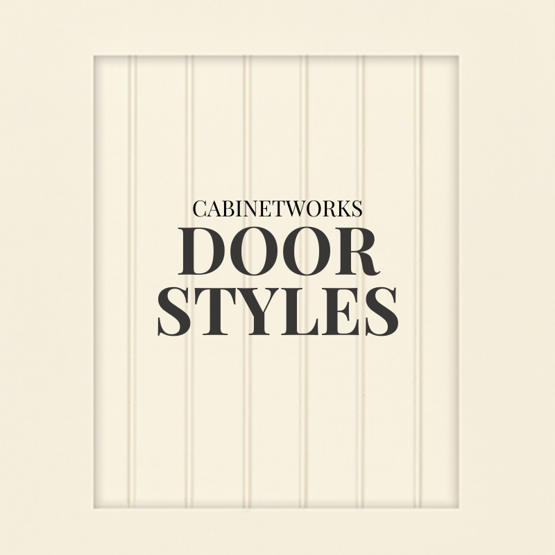 Cabinetry door styles